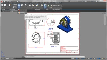 AutoCAD and Inventor share the same parent company, Autodesk.