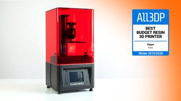 Image of Elegoo Mars: Best Budget Resin 3D Printer