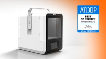 Image of Tiertime UP mini 2 ES: Best 3D Printer for Beginners