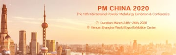 Image of 3D Printing / Additive Manufacturing Conference: Mar. 24-26, 2020 - PM China 2020