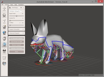 Meshmixer is a potent 3D model editing tool.