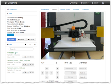 OctoPrint is a quintessential add-on for many hobbyists.