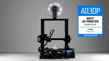 The similarly-sized, also top-rated Ender 3 Pro.