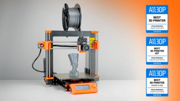 The Prusa i3 MK3S and the awards it's won from us