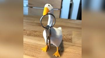 Imagem de Coisas para imprimir em 3D: Ganso do jogo Untitled Goose Game