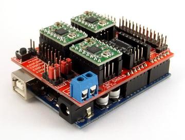 An Arduino CNC shield made for GRBL.