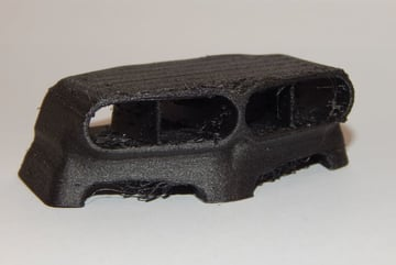Our Hood Scoop would look awesome on an R/C car with a little post-processing.