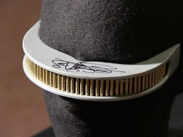 This replica of Geordi Laforge's Visor is so cool Levar Burton signed it for the creator!