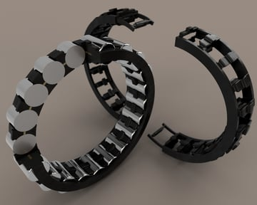 Bowman International have selected HP to start production of 3D printed bearings.