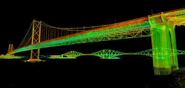 Even bridges can be 3D scanned.