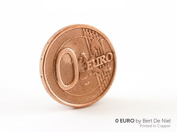 Even coins can be 3D printed (but they're not legal tender).