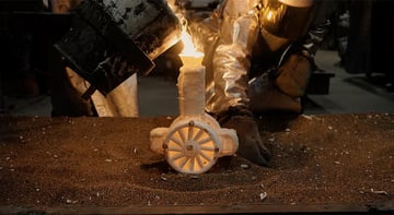 Image of: Method 3: Lost-Wax Casting / Lost-PLA Casting