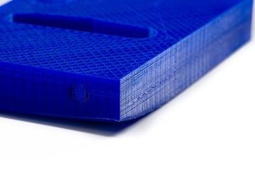 Warped 3D print