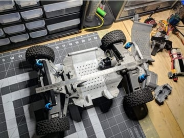 Many 3D printed parts later, this beast is born.