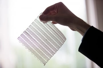 MIT's 3D printed fabric is thin, soft, and flexible