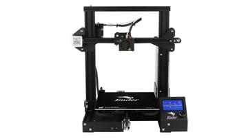 The hugely popular Ender 3 3D printer