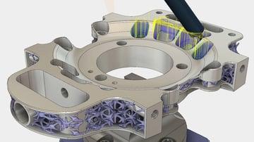 A complex STL part in Fusion 360