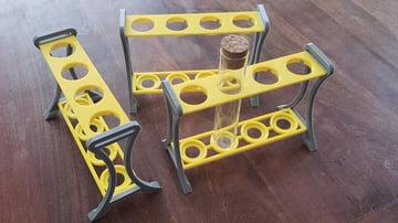 Image de Objets 3D utiles à imprimer en 3D: Support de tube à essai