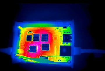 A thermal image of the BPI-M3