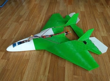 A super lightweight and simple RC plane model