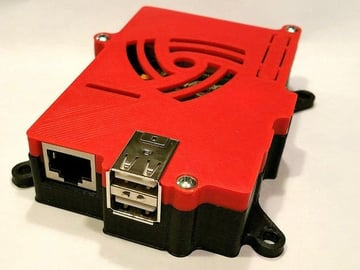 A Raspberry Pi case by 0110-M-P
