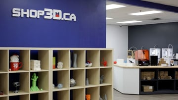 Shop3D.ca's Mississauga showroom and head office