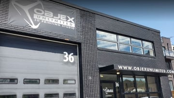 The exterior of Objex Unlimited's facility