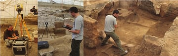3D scanning helps archaeologists map their work sites for detailed 3D modeling