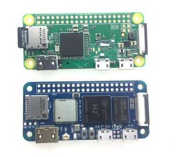 It's hard not to compare the Banana Pi to the Raspberry Pi