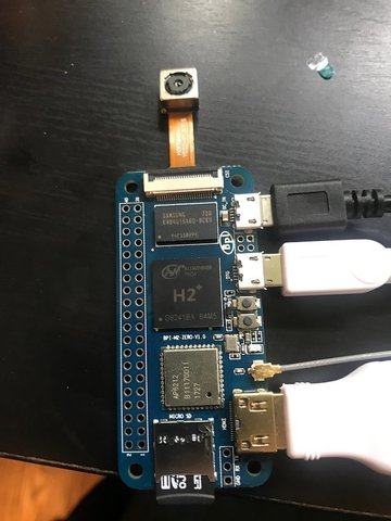 BPI-M2 Zero has the connections you need