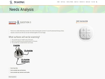 Scanman Express' needs analysis tool