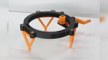 Imagem de Coisas para imprimir em 3D: Mesa giratória totalmente impressa em 3D