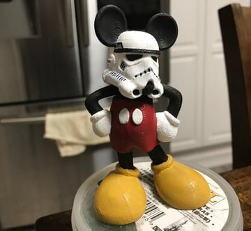 Netflix's pathetic rebellion will be crushed with the help of this adorable Storm trooper Mickey
