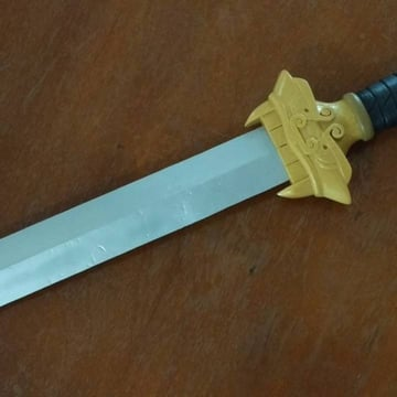 Printing this Mulan sword will certainly make a man out of you