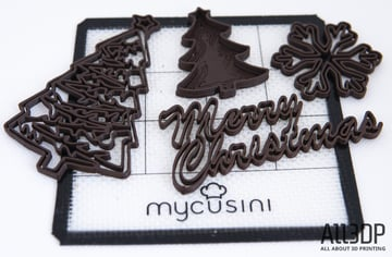 Image of Mycusini Chocolate 3D Printer Review: Printing