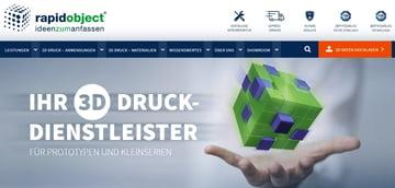 Image of Online-3D-Druck-Service-Dienstleister: Rapidobject