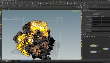 Image of 24 Best 3D Animation Software Tools (Some are Free): Houdini Apprentice