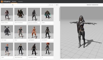 Image of 24 Best 3D Animation Software Tools (Some are Free): Mixamo