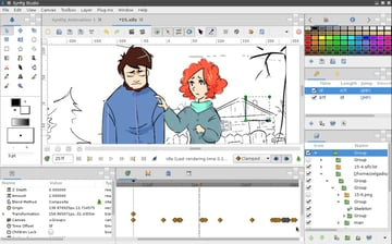 Image of 24 Best 3D Animation Software Tools (Some are Free): Synfig Studio