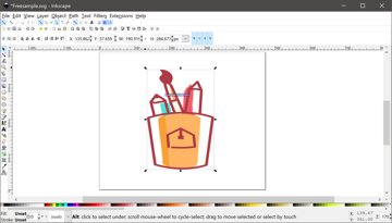 Inkscape is a free, open-source alternative to Adobe Illustrator
