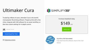 Free Cura vs. Paid Simplify3D