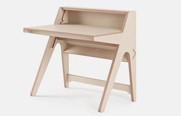 A simple, neat desk