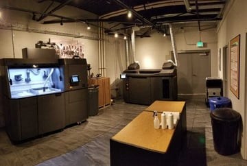 The Forerunner MJF lab