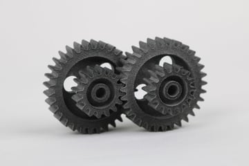Gears made with Multi Jet Fusion
