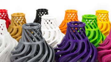 Just like PLA, PETG also comes in multiple colors