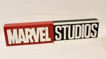 A printed Marvel logo