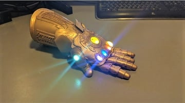 A remix of the original model with LEDs