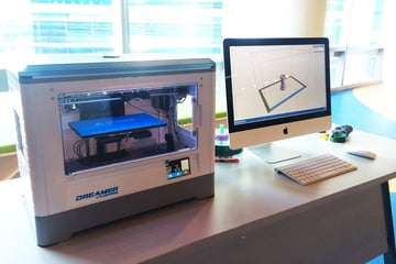 Image of Flashforge Dreamer 3D Printer: Review the Specs: Features