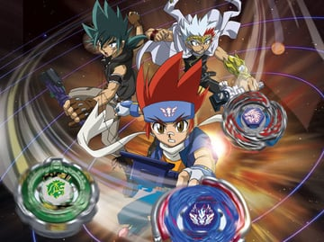 Beyblades have inspired several TV shows, including Beyblade: Metal Fusion