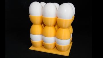 Imagem de Coisas para imprimir em 3D: Bandeja de ovos